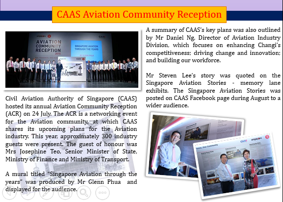 Aviation Community Reception